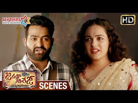 Jr NTR Gives Lecture to Nithya Menen | Janatha Garage Telugu Movie Scenes | Mohanlal | Samantha