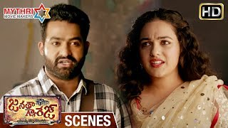 Jr NTR Gives Lecture to Nithya Menen | Janatha Garage Telugu Movie Scenes | Mohanlal | Samantha