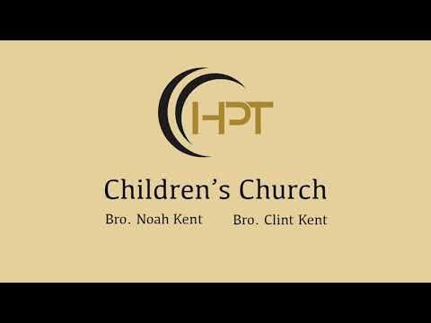 Children's Church | July 31, 2019 | Wednesday