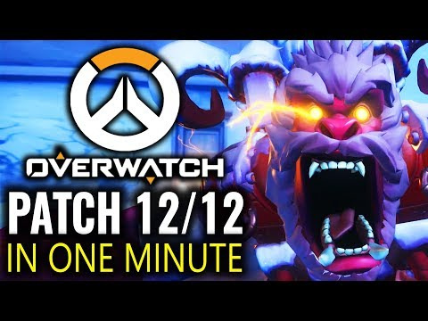 Overwatch - Patch in a Minute Dec 12th - Winter Wonderland 2017