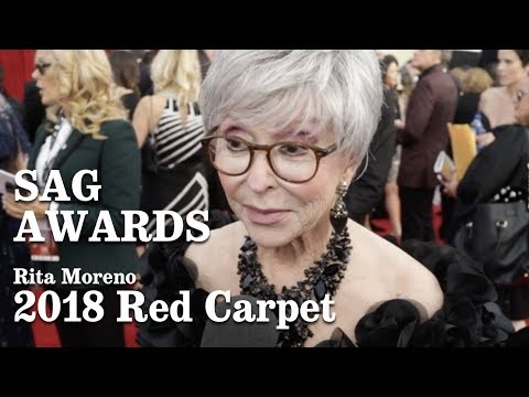 Rita Moreno On The Red Carpet At The SAG Awards 2018