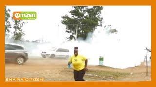 Polisi waliokuwa wakishika doria kutuliza vurugu Mumias wamelaumiwa
