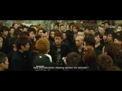Crows Zero 3 : Fighting in the school (Highlights Video)