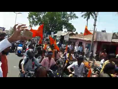 Coimbatore RSS group road strike
