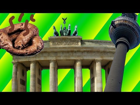 Behinderte Scheiße in Berlin