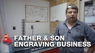 Engraving Business | Laser It by 2 Pete's | Speedy 400