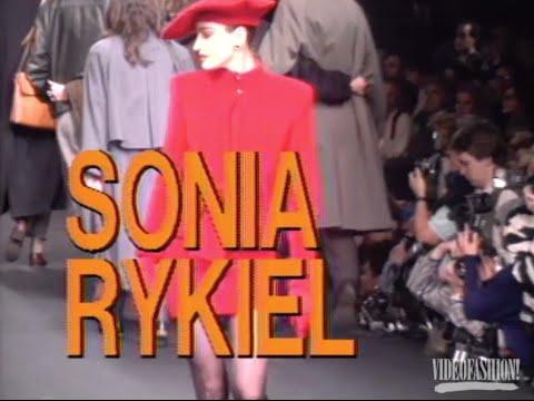 Sonia Rykiel Fall 1988 - Knitwear With High-Fashion Flair