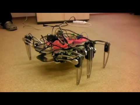 Hardware prototype - Six legged robot