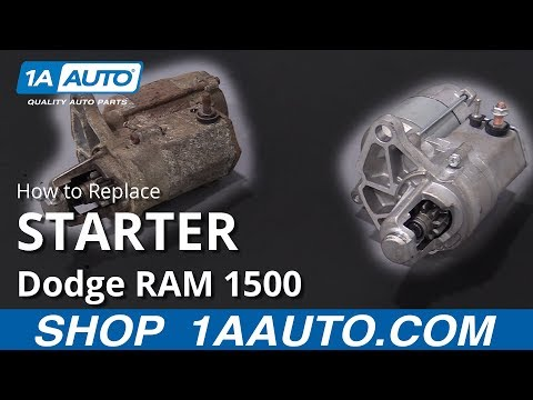 How to Replace Starter 94-02 Dodge RAM 1500