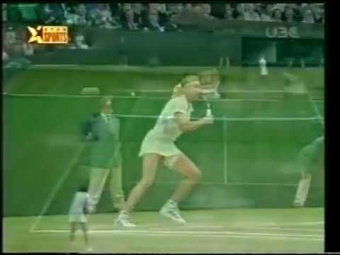 Wimbledon 1999 Graf VS  Davenport 2/2