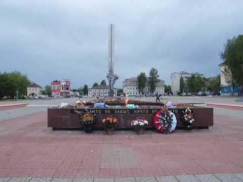 14.05.2019г видео зарисовки Людиново.