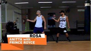 Rosa - Anitta with Prince Royce ll COREOGRAFIA WORK DANCE ll Aulas de dança