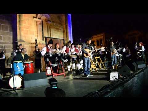 Nueche de la Gaita   Banda de Gaites Villaviciosa  El Gaitero, X Festival Internacional de la Gaita