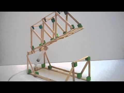Hydraulic Bridge Project Demonstration Youtube