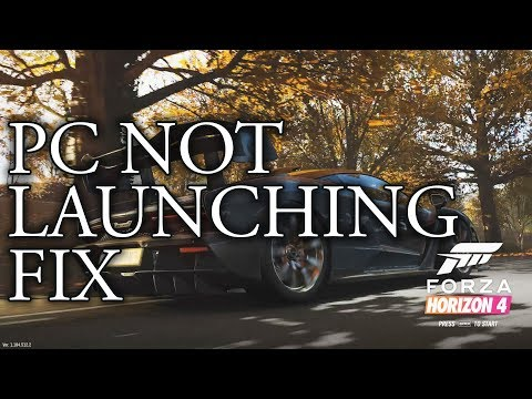 Forza Horizon 4 PC Launch Fix - YouTube
