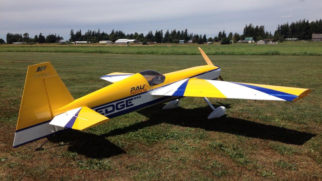 John 3D Flying His Pau Edge 540 DA100 36% Scale RC Plane