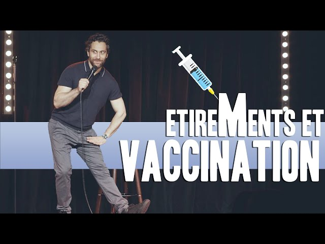 Étirements et vaccination 💉 - Seb Mellia