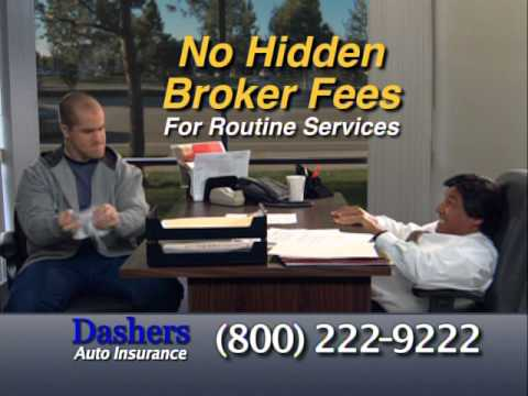 Dashers Insurance Commercial (Hidden Fees)