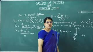 I PUC   Physics   Systems of Particles - 02