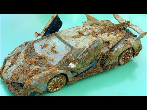 Restoration lamborghini veneno old | Rust model supercar lamborghini restoration