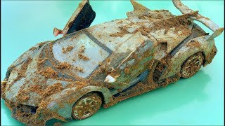 Restoration lamborghini veneno old | Rust model supercar lamborghini restoration