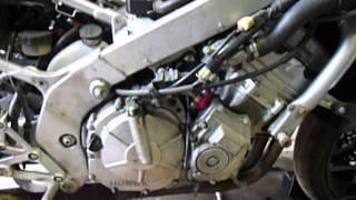 MILWAUKEE CYCLE SALVAGE 95 CBR600F3 RUNNING ENGINE