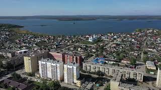 Город Чебаркуль Аэровидео