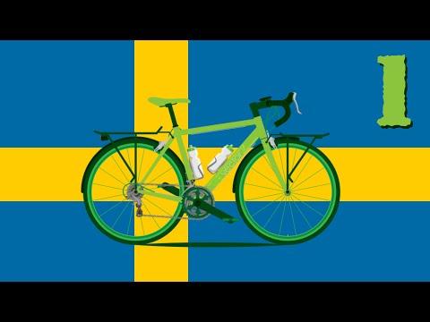 🚲 AVENTURA en BICICLETA por ESCANDINAVIA #1 | Bike Adventure Across Scandinavia