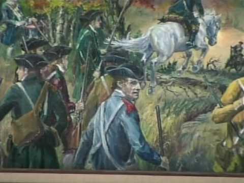(8 of 9) Revolutionary Battle of Saratoga Bemis Heights ...