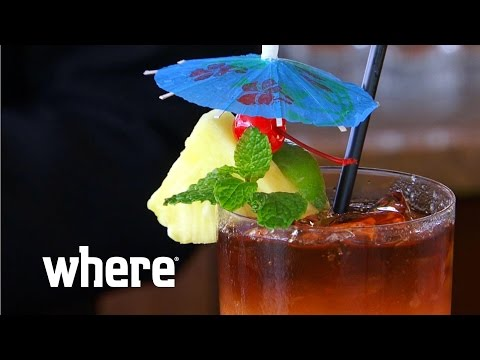 The Classic Hawaiian Cocktails: the Blue Hawaiian and the Mai Tai