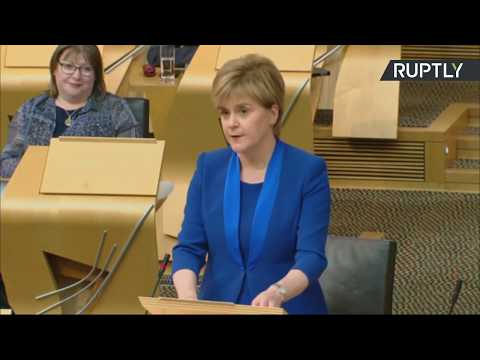 LIVE: Nicola Sturgeon drops plans for 2nd Scottish referendum until after Brexit