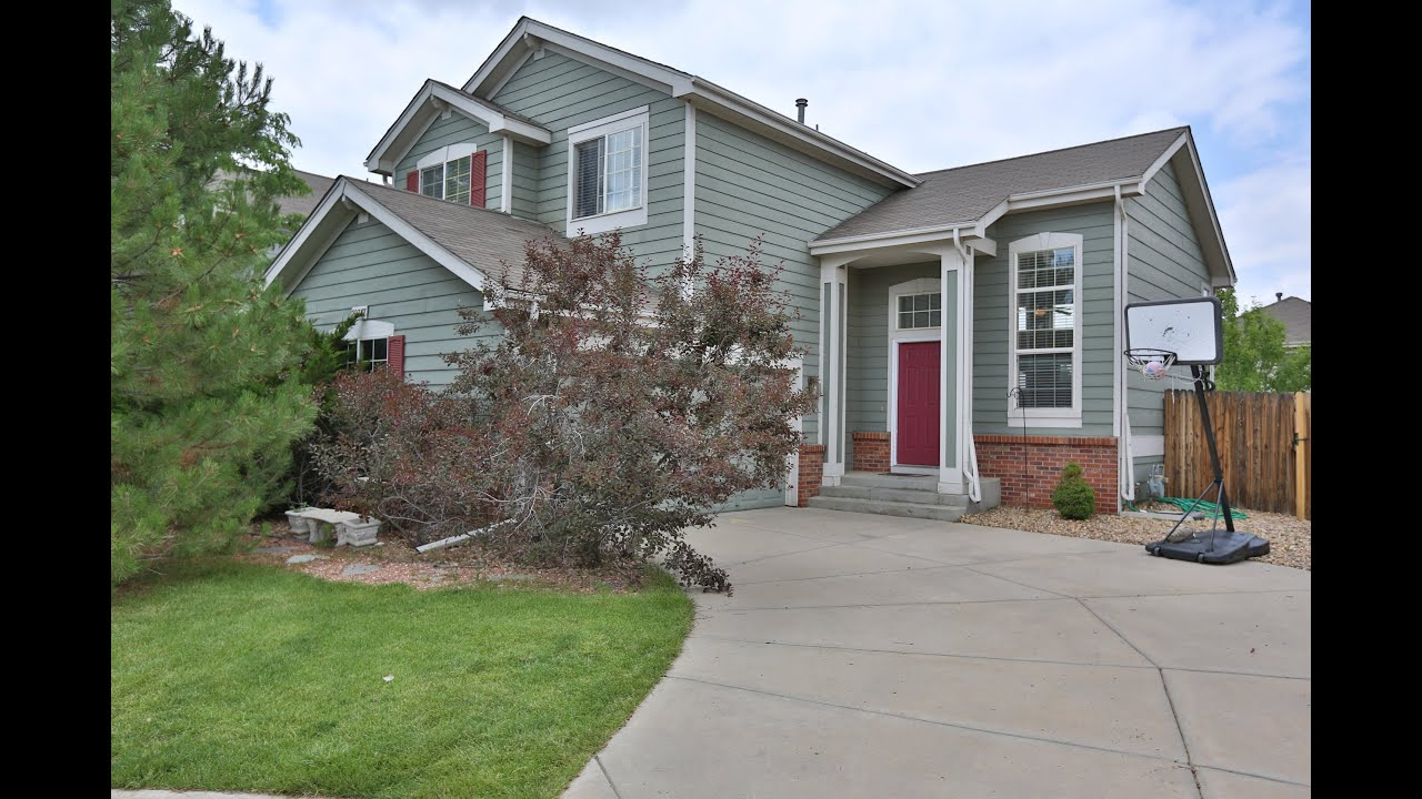 Aurora Colorado Homes For Sale 22367 Oxford Youtube