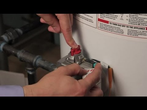 How to Reignite a Hot Water Heater : Hot Water Heaters