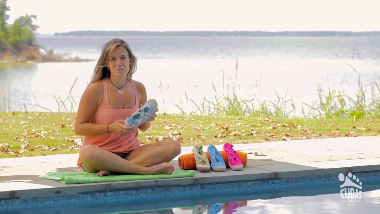 Cudas Womens Shasta Water Shoe - YouTube