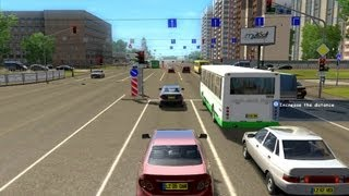 City Car Driving Simulator - Gameplay # 8 [HD]