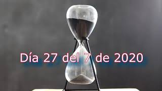 Abriendo el tiempo 27 del 7 de 2020 (video 109)