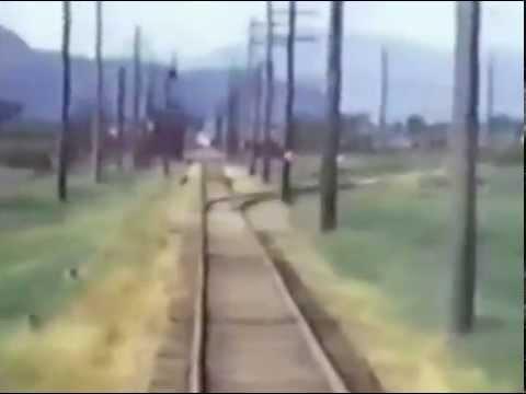 British Columbia Electric Railway Abbotsford - Chilliwack - New Westminster 1950
