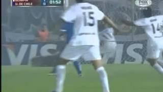 Golazo de Juan Manuel Salgueiro (Oli) - Olimpia 1 Vs 0 U de Chile - Copa Libertadores 2013