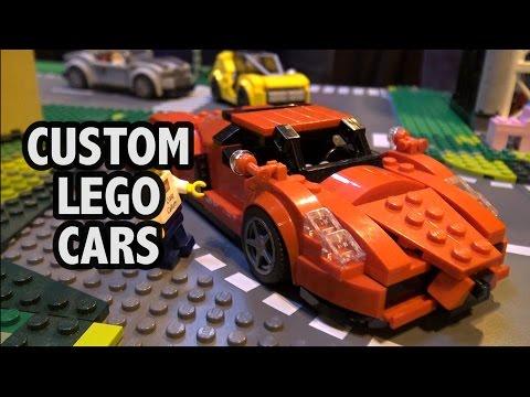 Custom LEGO Speed Champions Cars | Brick Birmingham 2016