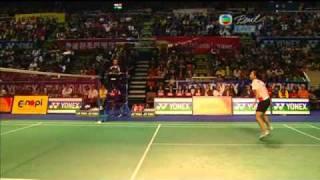 Yonex Sunrise Hong Kong Open Super Series 2010 WS Final Saina Nehwal vs Wang Shixian 5/6