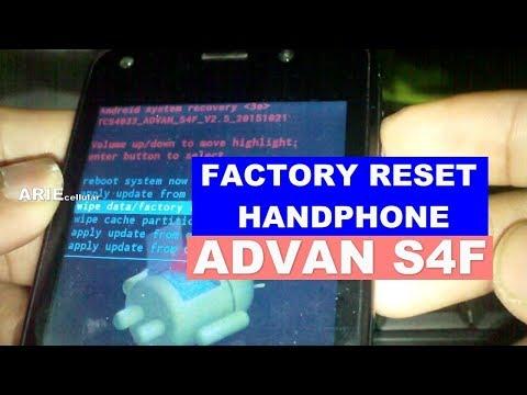 Cara Mudah Hard Reset Wipe Data Advan Vandroid S6 2018   Mengatasi Lupa Pola Password.