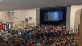 Hanover-Horton Elementary School Veterans Day 2016