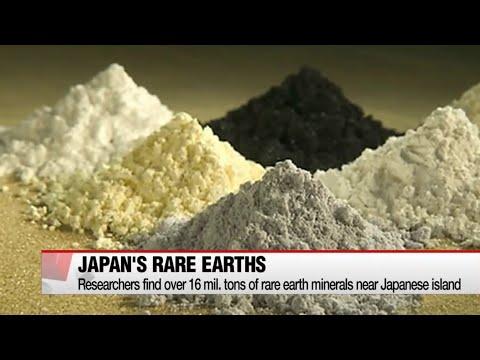 Japan finds huge deposits of rare earth elements