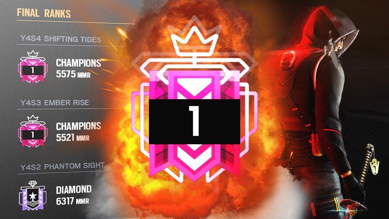 The NUMBER 1 CHAMPION World's #1 + BEST CHAMPION CONSOLE SETTINGS & SENSITIVITY   Rainbow Six Siege