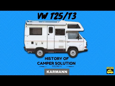 VW T25/T3 - Vol.6 (Karmann) Camper solutions story sort by brands