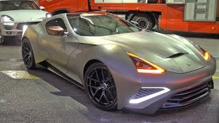 1000HP Icona Vulcano Titanium - World First Titanium Car!