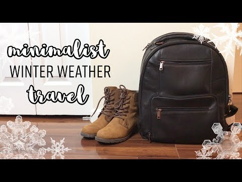 Minimalist Winter Travel: Packing Light For Holidays & Weekends In Cold Weather | Minimalist Packing