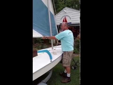 Capt. Penn Rigging A Sunfish