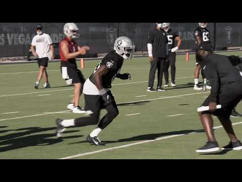 Las Vegas Raiders first practice video - August 2020