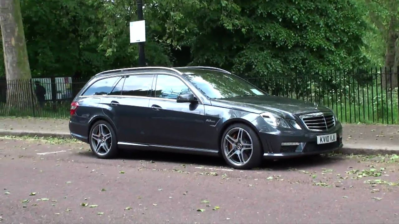Mercedes Benz E63 Amg Estate Walkaround In London Youtube